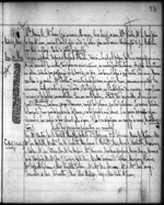 Journal entry by Amédée Papineau mentioning Mary Westcott and her family. Wednesday, May 20, 1846. Microfilm volume 35, p. 53
