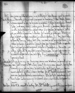 Journal entry by Amédée Papineau mentioning Mary Westcott and her family. Thursday, May 20, 1847. Microfilm volume 35, p. 104