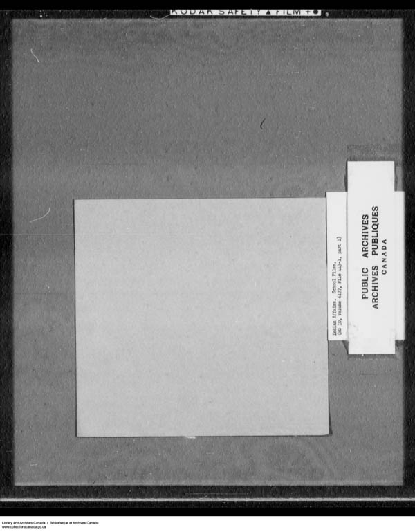 Title: School Files Series - 1879-1953 (RG10) - Mikan Number: 157505 - Microform: c-7914