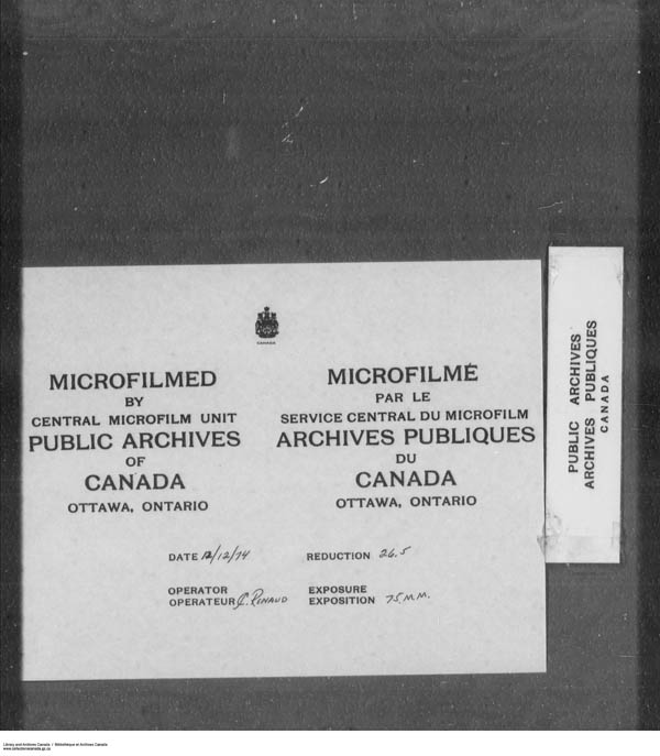 Title: School Files Series - 1879-1953 (RG10) - Mikan Number: 157505 - Microform: c-7922