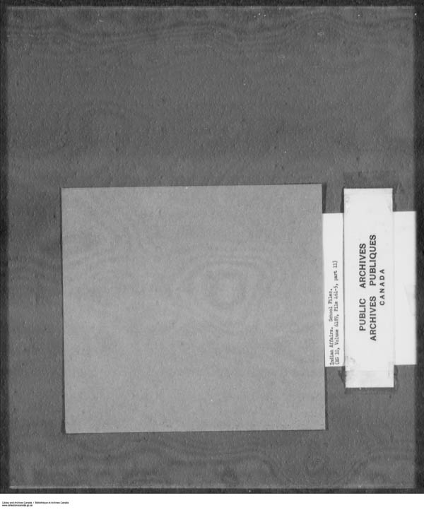 Title: School Files Series - 1879-1953 (RG10) - Mikan Number: 157505 - Microform: c-7925