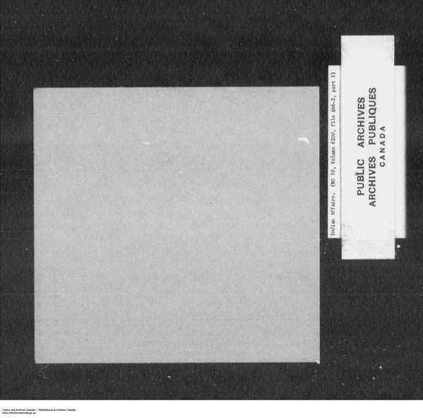 Title: School Files Series - 1879-1953 (RG10) - Mikan Number: 157505 - Microform: c-7934