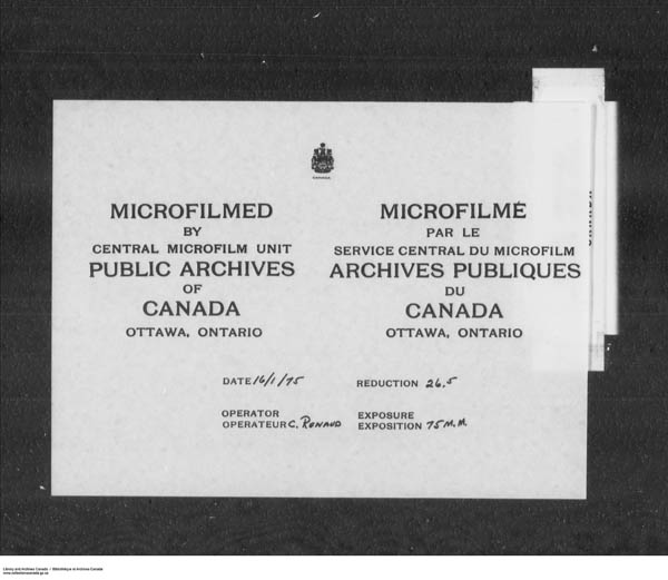 Title: School Files Series - 1879-1953 (RG10) - Mikan Number: 157505 - Microform: c-7935