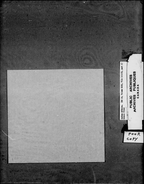 Title: School Files Series - 1879-1953 (RG10) - Mikan Number: 157505 - Microform: c-8135