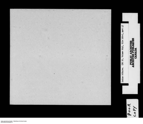 Title: School Files Series - 1879-1953 (RG10) - Mikan Number: 157505 - Microform: c-8153