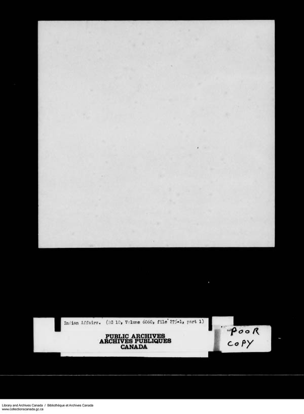 Title: School Files Series - 1879-1953 (RG10) - Mikan Number: 157505 - Microform: c-8163