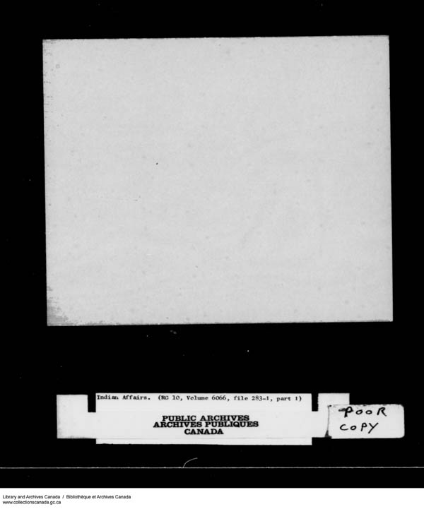 Title: School Files Series - 1879-1953 (RG10) - Mikan Number: 157505 - Microform: c-8166