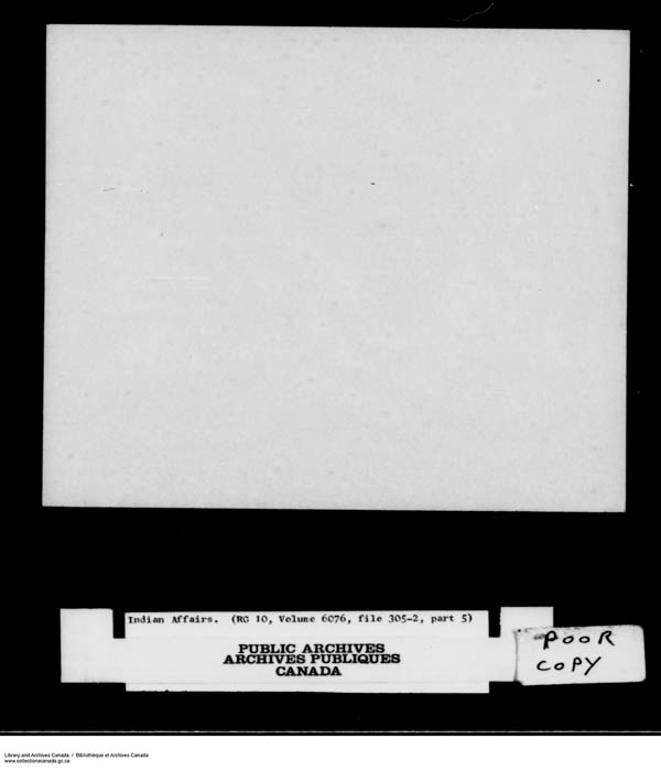 Title: School Files Series - 1879-1953 (RG10) - Mikan Number: 157505 - Microform: c-8171