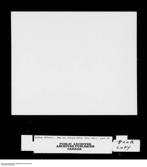Title: School Files Series - 1879-1953 (RG10) - Mikan Number: 157505 - Microform: c-8175