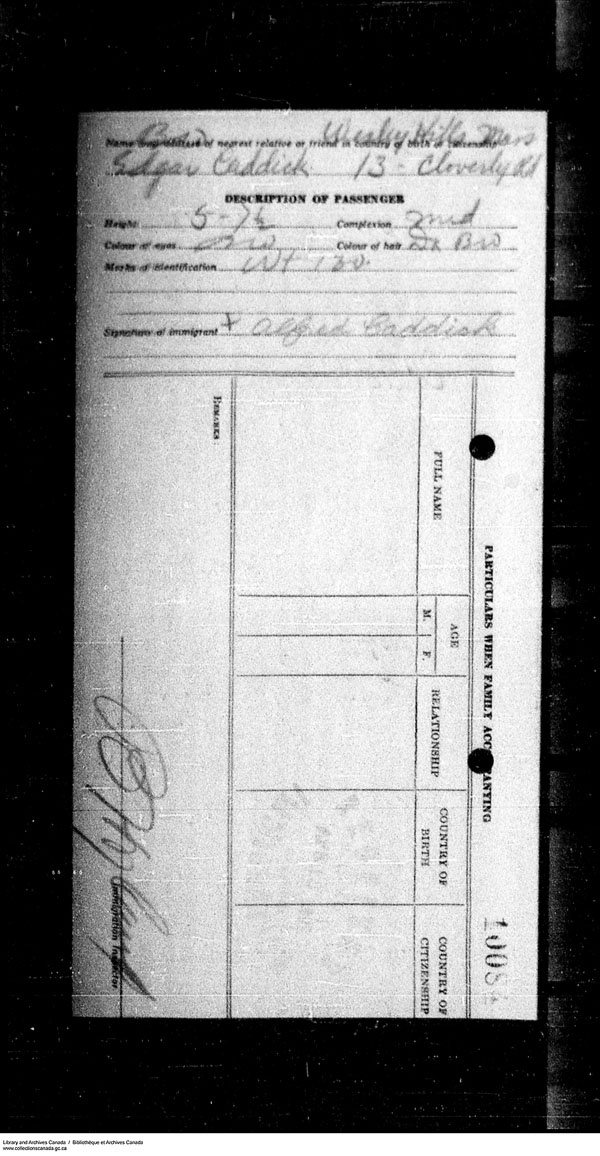 Title: Border Entry, Form 30, 1919-1924 - Mikan Number: 161377 - Microform: t-15264