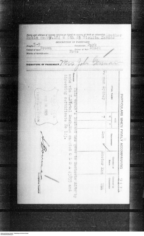 Title: Border Entry, Form 30, 1919-1924 - Mikan Number: 161377 - Microform: t-15281