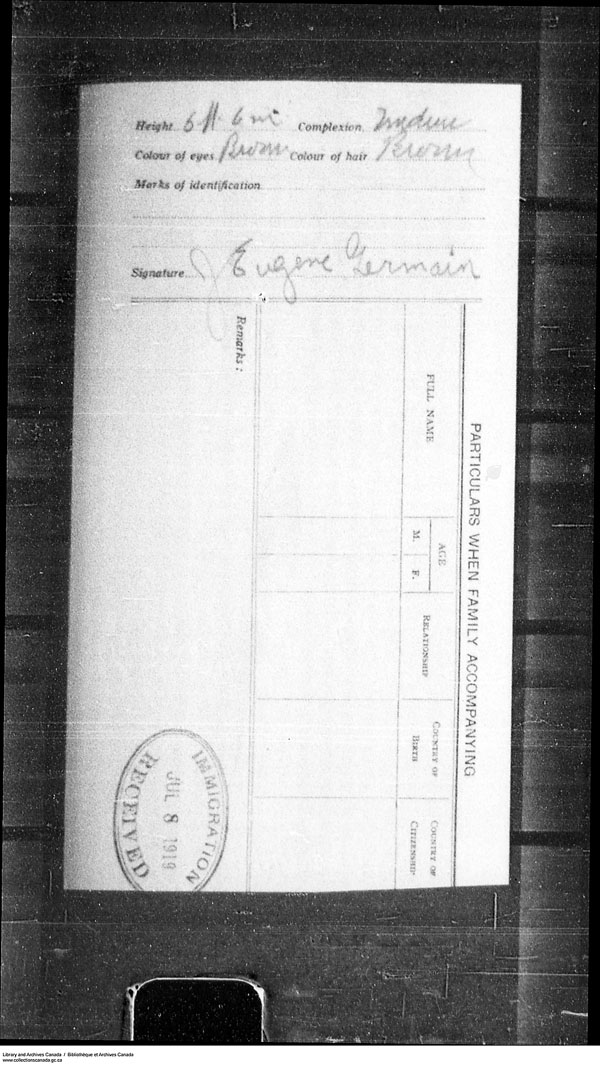 Title: Border Entry, Form 30, 1919-1924 - Mikan Number: 161377 - Microform: t-15282