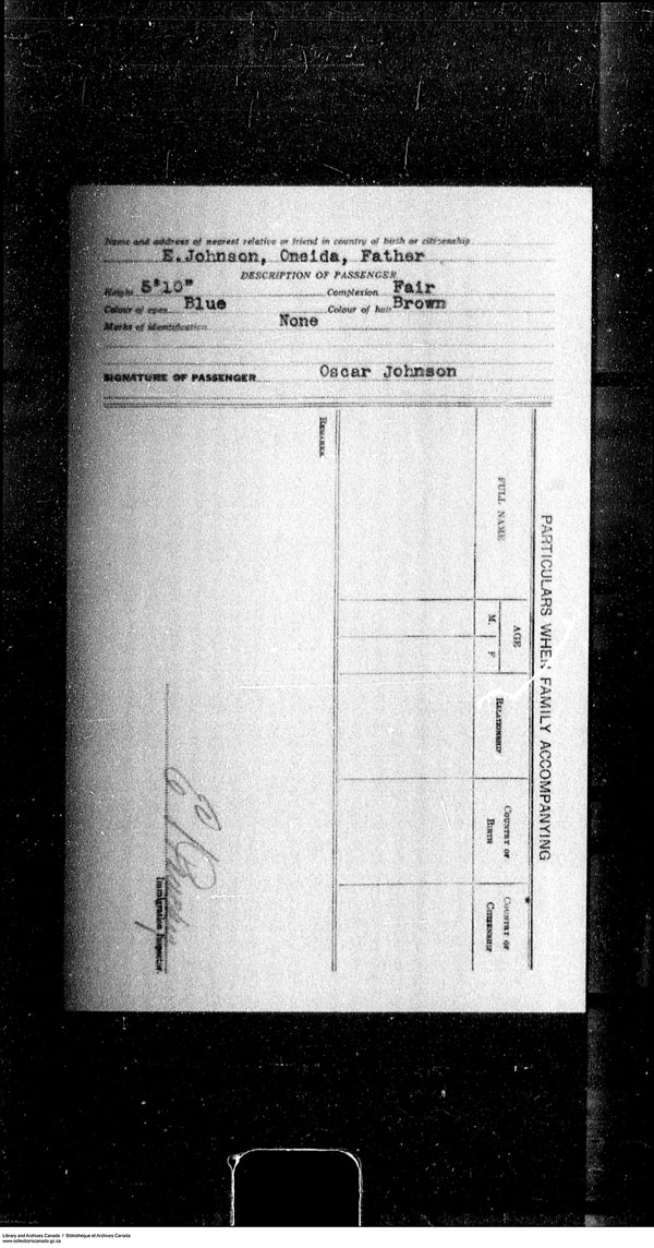 Title: Border Entry, Form 30, 1919-1924 - Mikan Number: 161377 - Microform: t-15294
