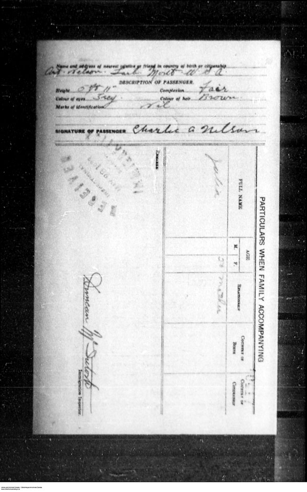 Title: Border Entry, Form 30, 1919-1924 - Mikan Number: 161377 - Microform: t-15313