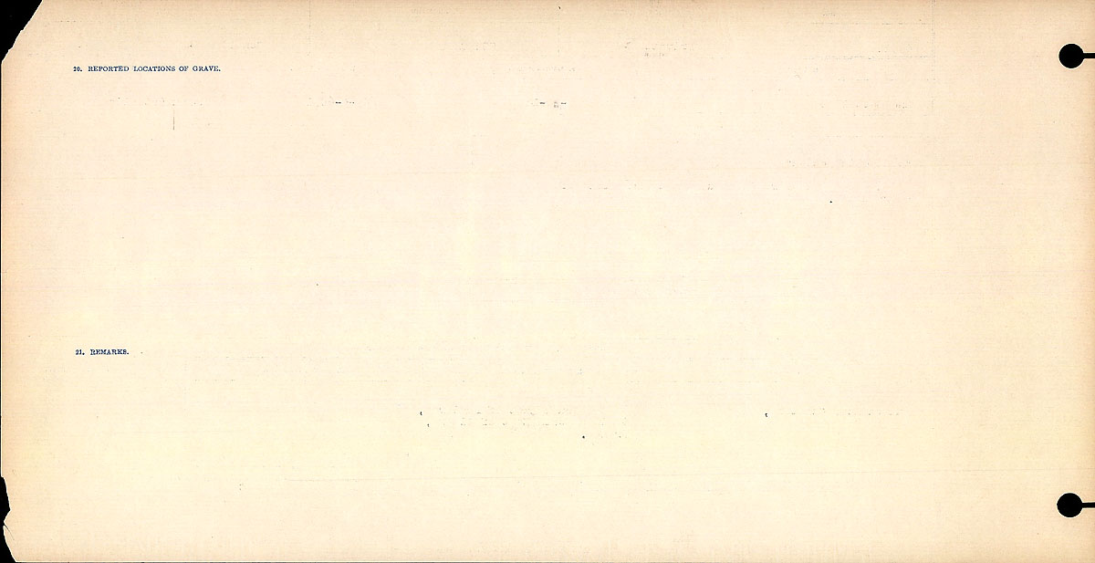 Title: Circumstances of Death Registers, First World War - Mikan Number: 46246 - Microform: 31829_B016731