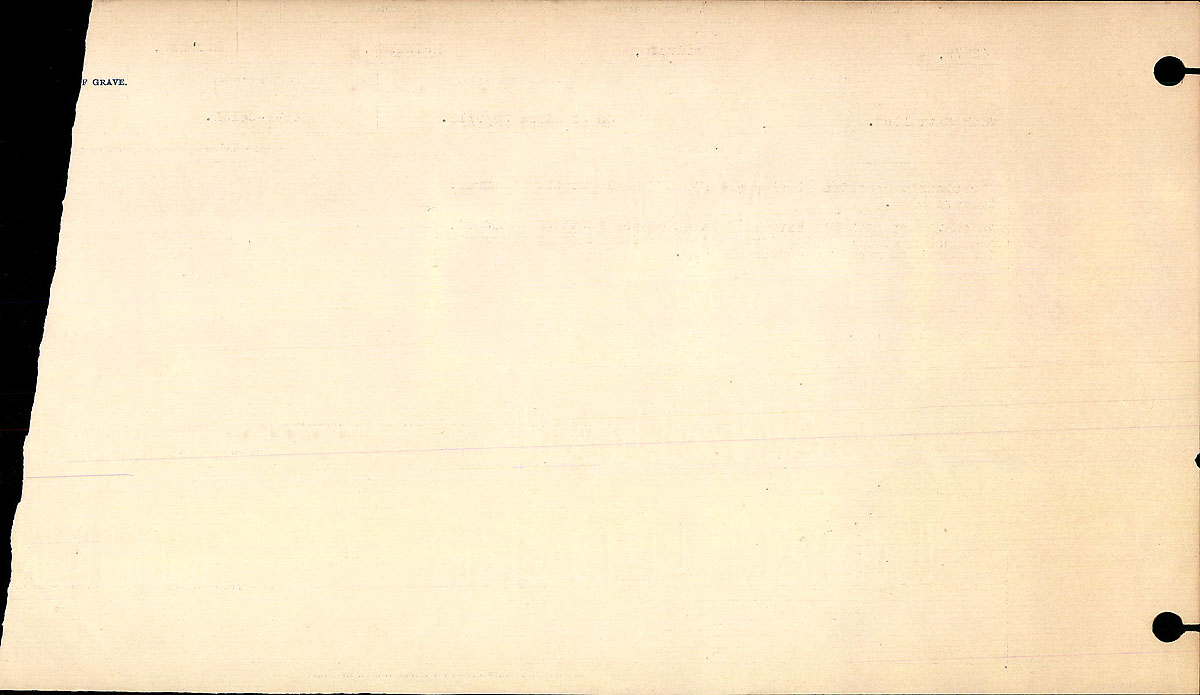 Title: Circumstances of Death Registers, First World War - Mikan Number: 46246 - Microform: 31829_B016761