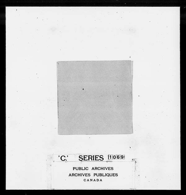 Title: British Military and Naval Records (RG 8, C Series) - DOCUMENTS - Mikan Number: 105012 - Microform: c-1464