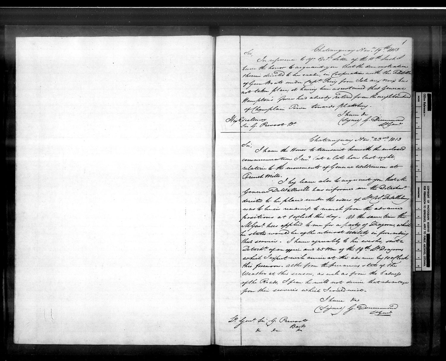 Title: War of 1812: Miscellaneous Records - Mikan Number:  - Microform: c-2226