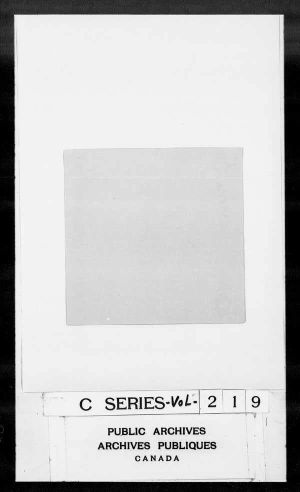 Title: British Military and Naval Records (RG 8, C Series) - DOCUMENTS - Mikan Number: 105012 - Microform: c-2787