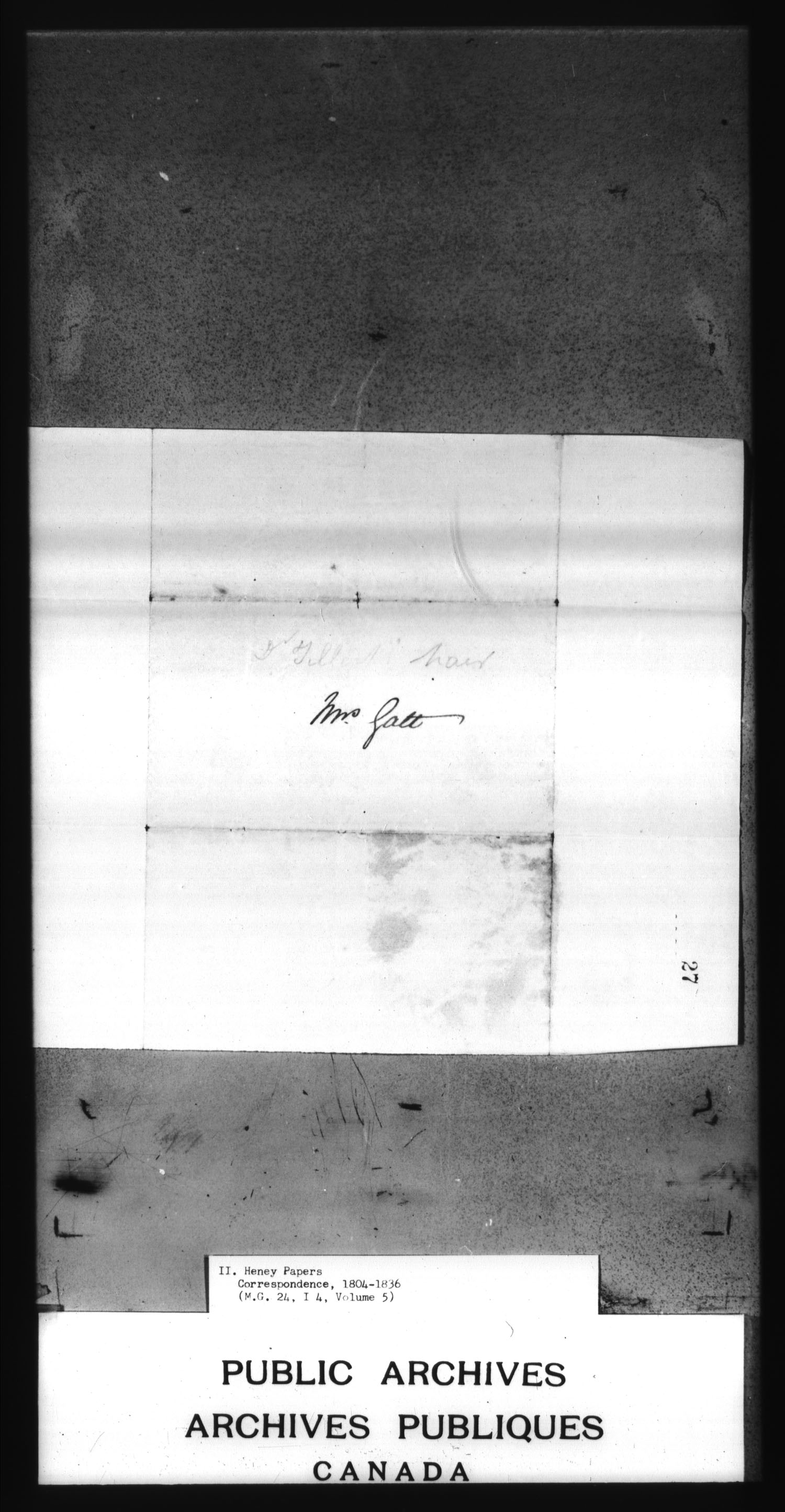 Title: War of 1812: Miscellaneous Records - Mikan Number:  - Microform: c-3898