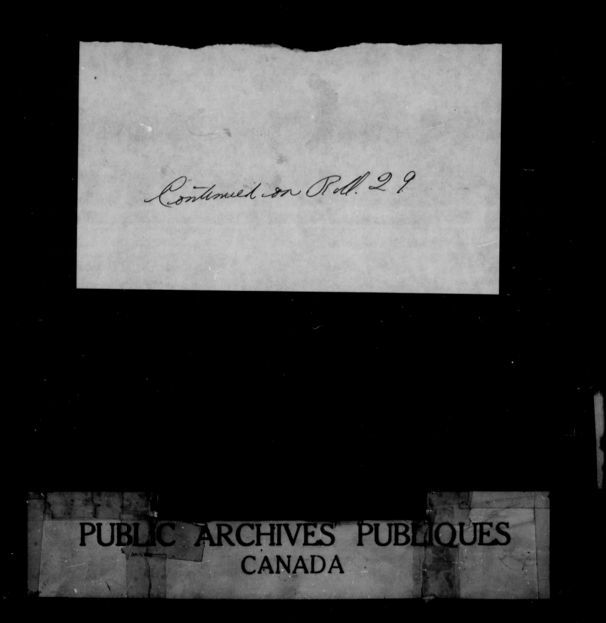 Title: Upper Canada Land Petitions (1763-1865) - Mikan Number: 205131 - Microform: c-1636