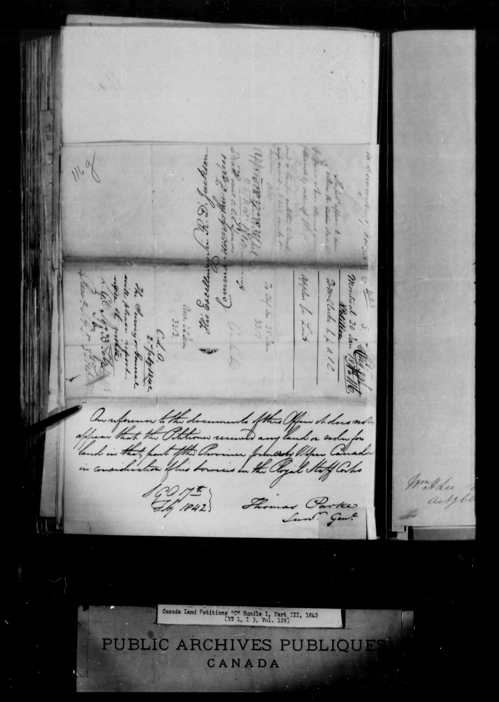 Title: Upper Canada Land Petitions (1763-1865) - Mikan Number: 205131 - Microform: c-1732