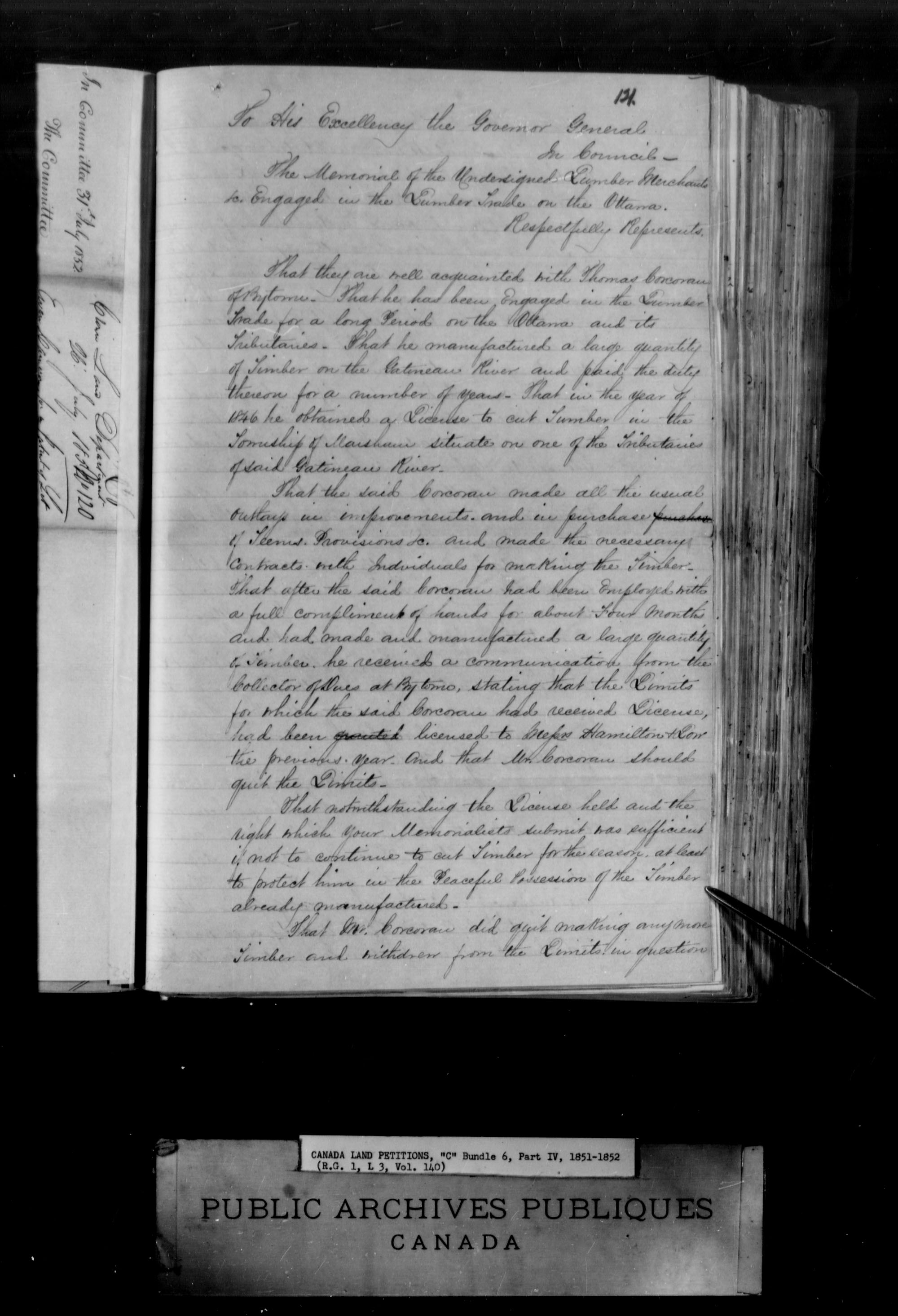 Title: Upper Canada Land Petitions (1763-1865) - Mikan Number: 205131 - Microform: c-1738