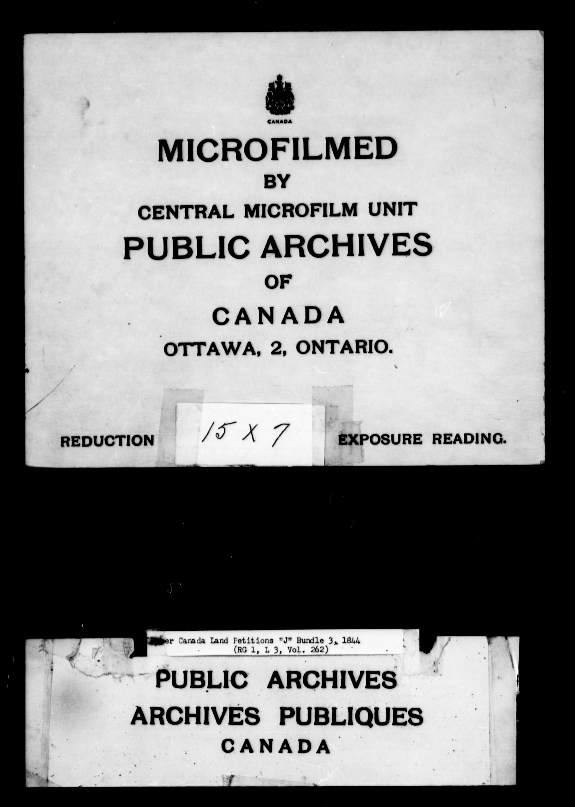 Title: Upper Canada Land Petitions (1763-1865) - Mikan Number: 205131 - Microform: c-2114