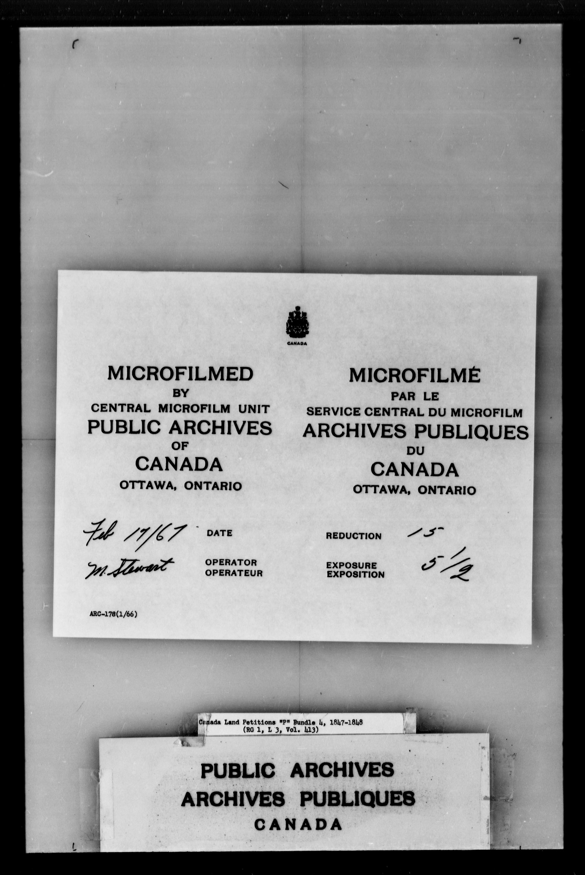Title: Upper Canada Land Petitions (1763-1865) - Mikan Number: 205131 - Microform: c-2735
