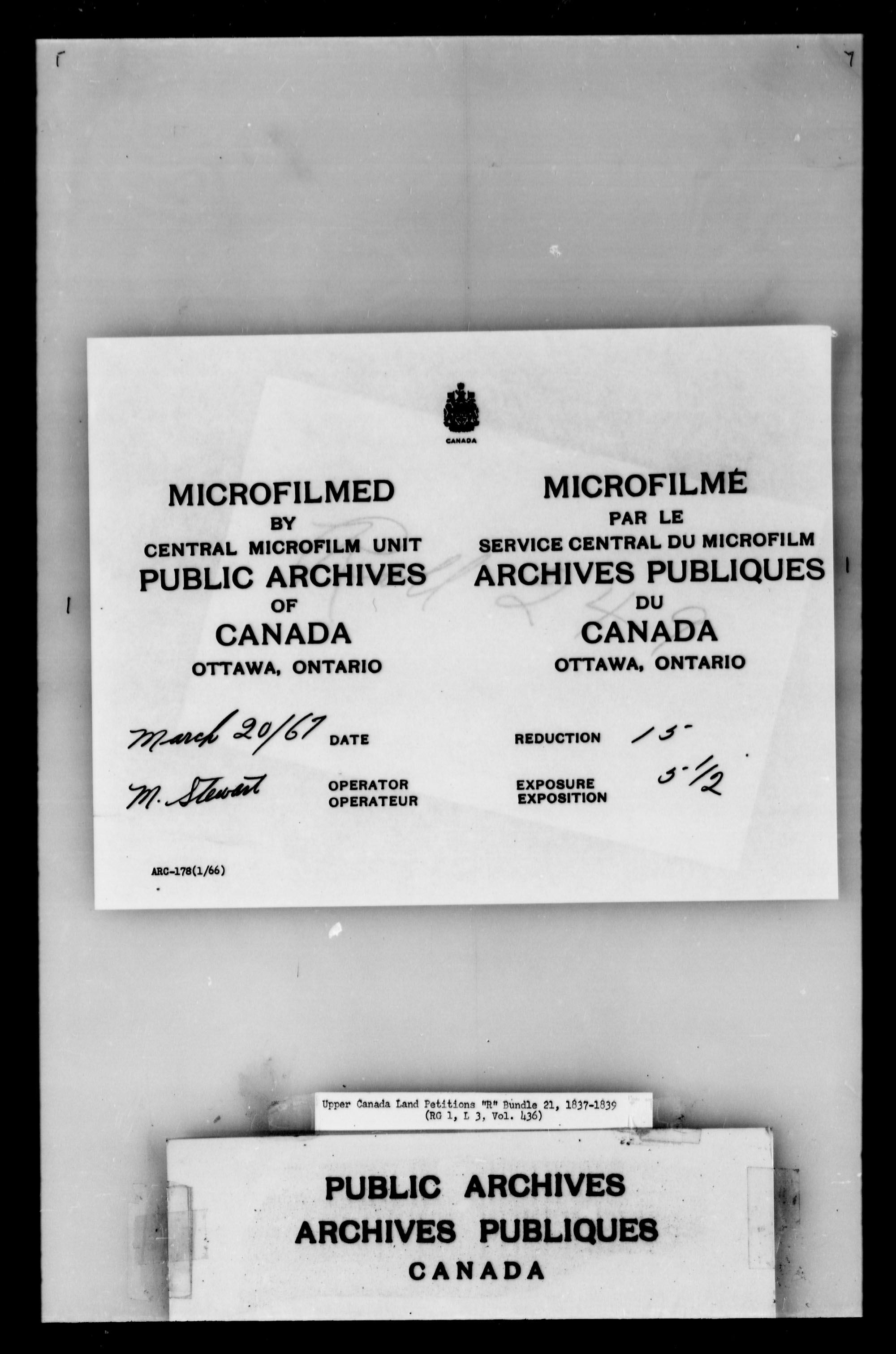 Title: Upper Canada Land Petitions (1763-1865) - Mikan Number: 205131 - Microform: c-2748