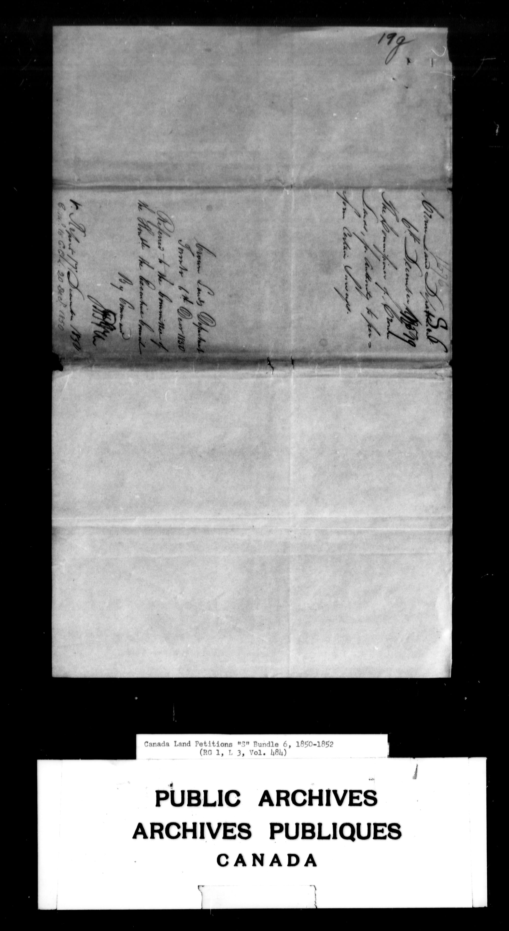 Title: Upper Canada Land Petitions (1763-1865) - Mikan Number: 205131 - Microform: c-2826