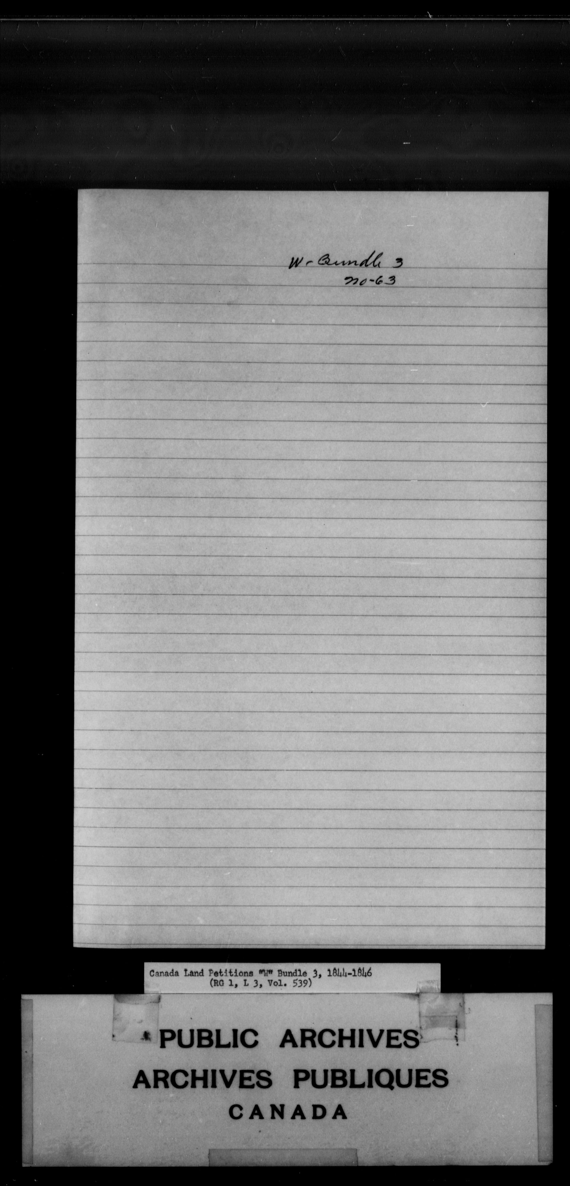 Title: Upper Canada Land Petitions (1763-1865) - Mikan Number: 205131 - Microform: c-2962