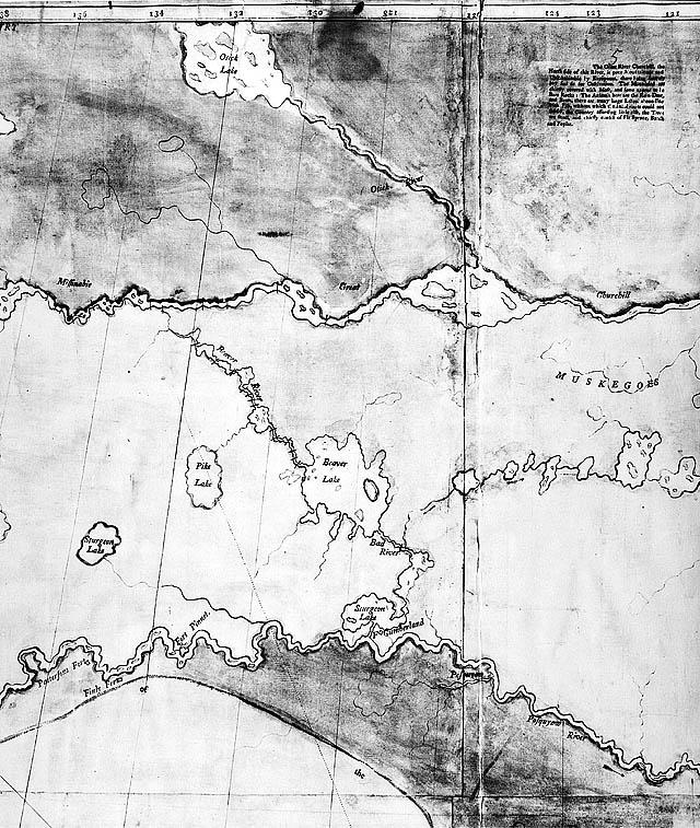 Carte Partie De A Map Of The North West Parts America