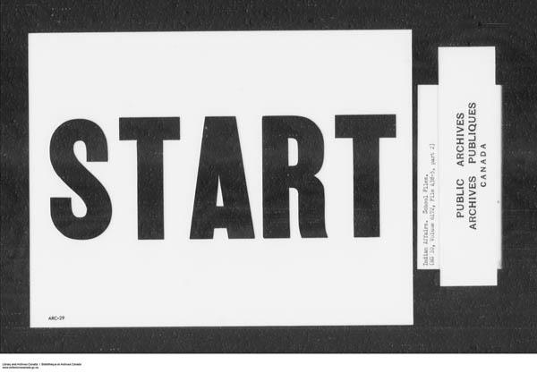 Title: School Files Series - 1879-1953 (RG10) - Mikan Number: 157505 - Microform: c-7910