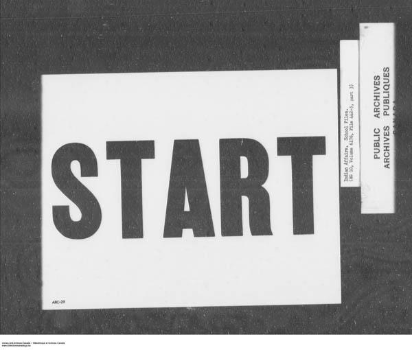 Title: School Files Series - 1879-1953 (RG10) - Mikan Number: 157505 - Microform: c-7913