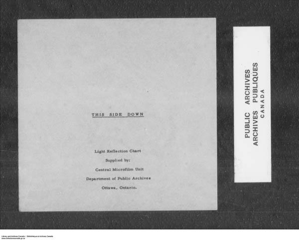 Title: School Files Series - 1879-1953 (RG10) - Mikan Number: 157505 - Microform: c-7915