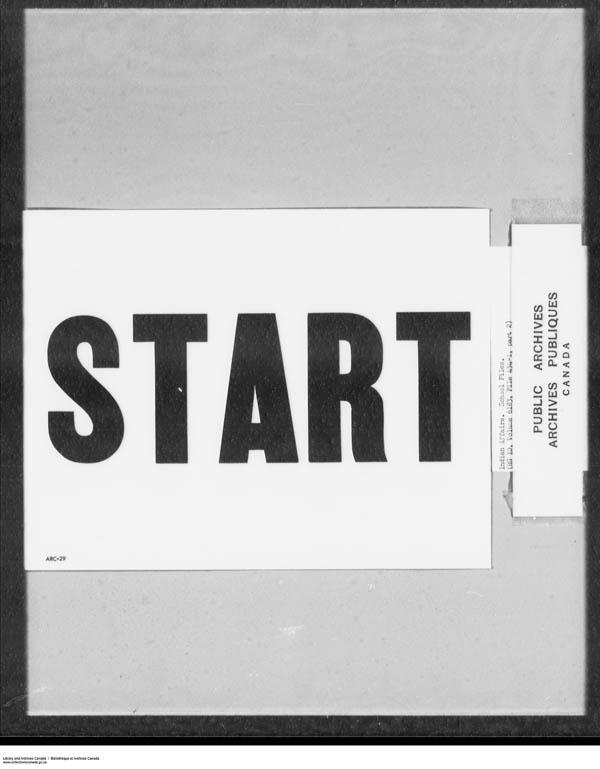 Title: School Files Series - 1879-1953 (RG10) - Mikan Number: 157505 - Microform: c-7920