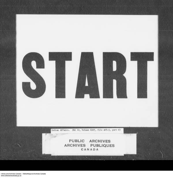 Title: School Files Series - 1879-1953 (RG10) - Mikan Number: 157505 - Microform: c-7939