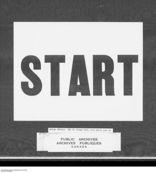 Title: School Files Series - 1879-1953 (RG10) - Mikan Number: 157505 - Microform: c-7941