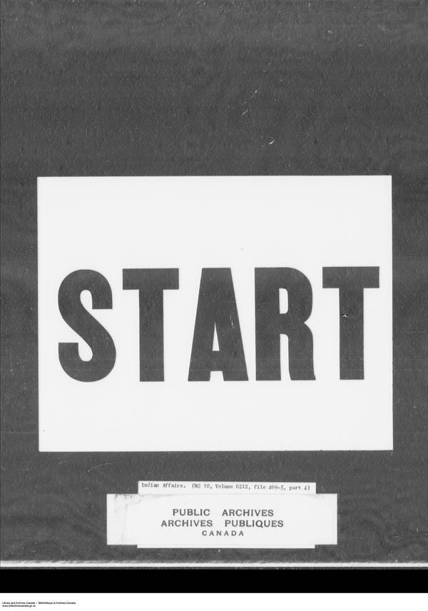 Title: School Files Series - 1879-1953 (RG10) - Mikan Number: 157505 - Microform: c-7943