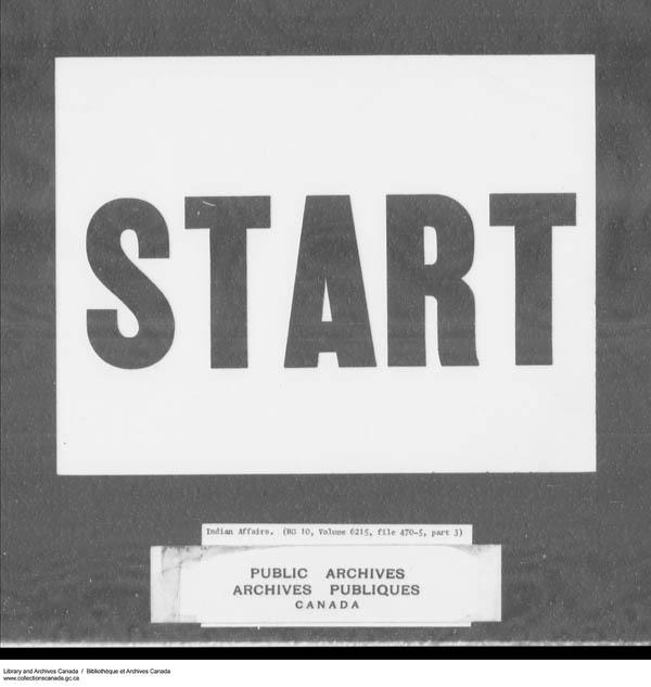 Title: School Files Series - 1879-1953 (RG10) - Mikan Number: 157505 - Microform: c-7945