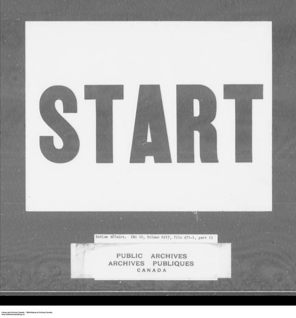 Title: School Files Series - 1879-1953 (RG10) - Mikan Number: 157505 - Microform: c-7946