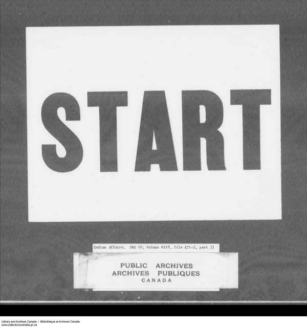 Title: School Files Series - 1879-1953 (RG10) - Mikan Number: 157505 - Microform: c-7947