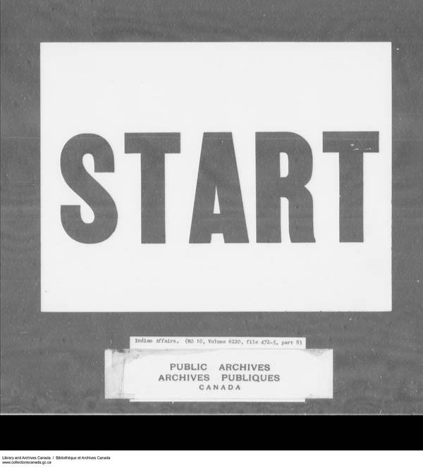 Title: School Files Series - 1879-1953 (RG10) - Mikan Number: 157505 - Microform: c-7949