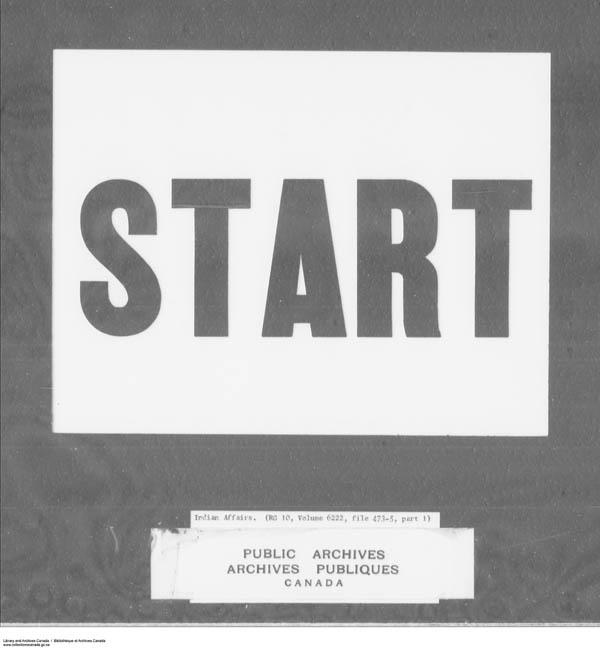 Title: School Files Series - 1879-1953 (RG10) - Mikan Number: 157505 - Microform: c-7950