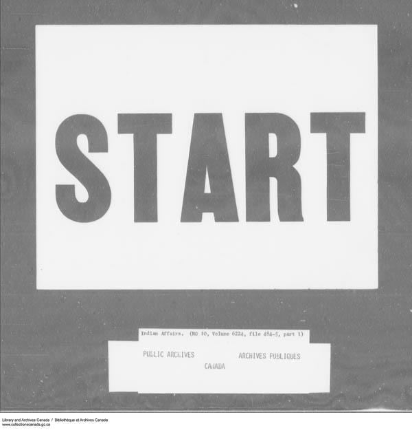 Title: School Files Series - 1879-1953 (RG10) - Mikan Number: 157505 - Microform: c-7951