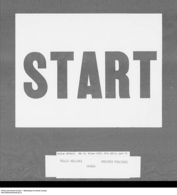 Title: School Files Series - 1879-1953 (RG10) - Mikan Number: 157505 - Microform: c-7953