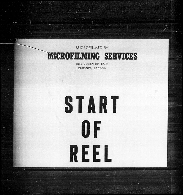 Title: Ocean Arrivals, Form 30A, 1919-1924 - Mikan Number: 161349 - Microform: t-14949
