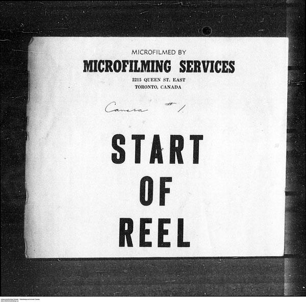 Titre: Arrivées par la frontière, formulaire 30, 1919-1924 - N° d'enregistrement Mikan: 179163 - Microforme: t-15287