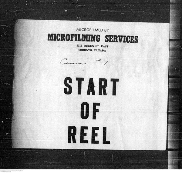 Titre: Arrivées par la frontière, formulaire 30, 1919-1924 - N° d'enregistrement Mikan: 179163 - Microforme: t-15305